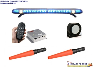 KIT POLICIAL TELERED EXTRAPLANO PLB24