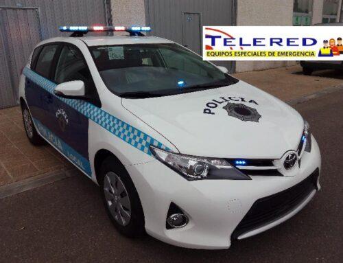 PUENTE DE LUCES POLICIAL EXTRAPLANO